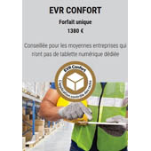 EasyVerifRack COMCO _ Application EVR CONFORT avec étiquettes géolocalisables PACK EVR CONFORT EASYVERIFRACK
