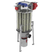 Dispositif de filtration Infa-Vario-Jet AJV