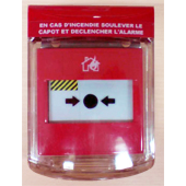 STI ALARMES INCENDIES _ Capot de protection MINI PROTECT DM