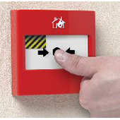 STI ALARMES INCENDIES _ Couvercle de protection d'alarme RESET CALL POINT